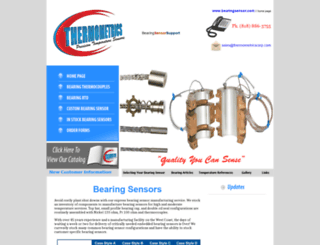 bearingsensor.com screenshot