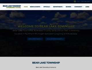 bearlaketownship.org screenshot
