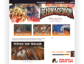 bearmageddon.com screenshot