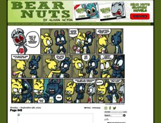 bearnutscomic.com screenshot