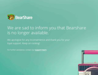 bearshare.com screenshot