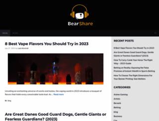 bearshare.com screenshot