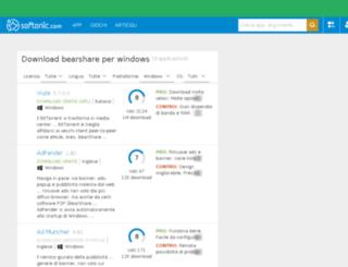 bearshare.softonic.it screenshot