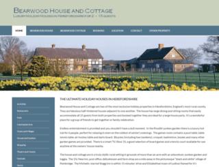 bearwoodhouseandcottage.co.uk screenshot