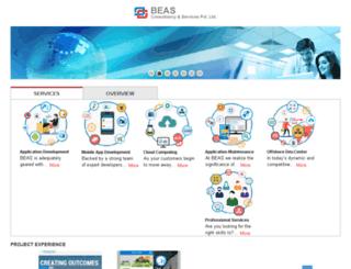 beas.co.in screenshot