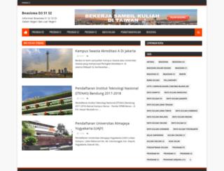 beasiswaonline.net screenshot