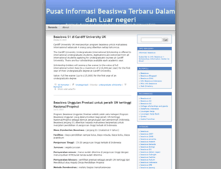 beasiswaterbaru.wordpress.com screenshot