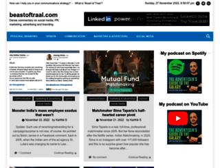 beastoftraal.com screenshot