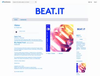 beat-it.bandcamp.com screenshot
