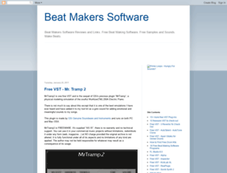 beat-maker-software.blogspot.com screenshot