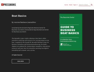 beatbasics.pressbooks.com screenshot