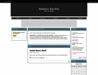 beatboxbandits.shivtr.com screenshot