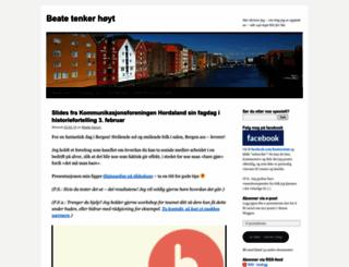 beatesorum.wordpress.com screenshot
