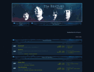 beatles.forumfree.it screenshot