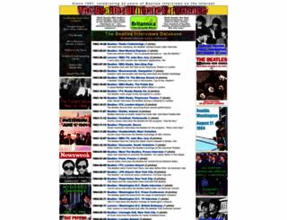 beatlesinterviews.org screenshot