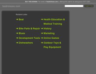 beatrelease.com screenshot