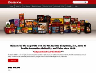 beatriceco.com screenshot