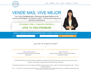 beatrizolivar.com screenshot