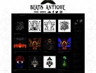 beatsantique.bandcamp.com screenshot