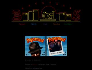 beatsteaks.org screenshot