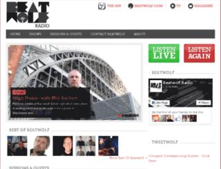 beatwolfradio.com screenshot