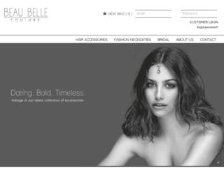 beaubelle.co screenshot