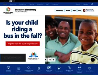 beauclerc.duvalschools.org screenshot