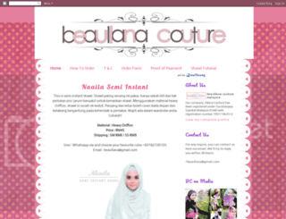 beaullana.blogspot.com screenshot