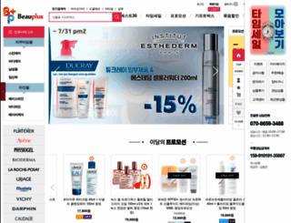 beauplus.com screenshot