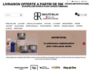 beaute-relax.com screenshot