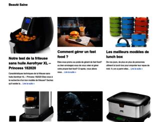 beaute-saine.com screenshot