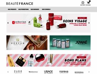 beautefrance.com screenshot