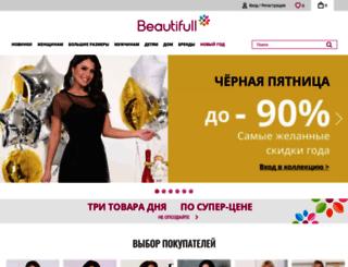beauti-full.ru screenshot