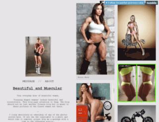 beautiful-and-muscular.tumblr.com screenshot