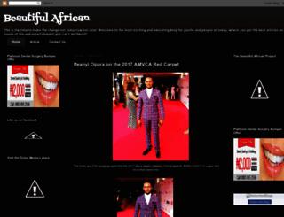beautifulafrican.blogspot.com screenshot