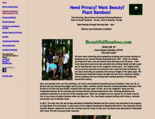 beautifulbamboo.com screenshot