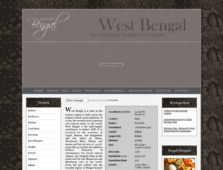 beautifulbengal.com screenshot