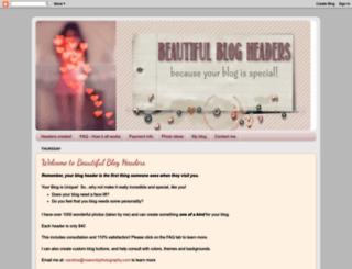beautifulblogheaders.blogspot.com screenshot
