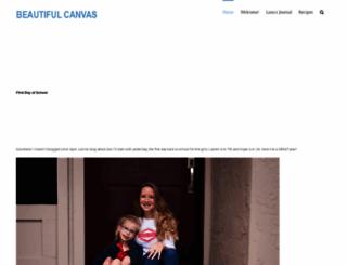 beautifulcanvas.org screenshot