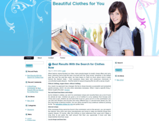 beautifulcloth2u.com screenshot