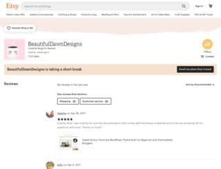 beautifuldawndesigns.crafthub.me screenshot