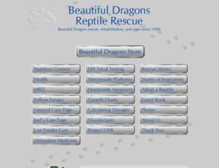 beautifuldragons.com screenshot