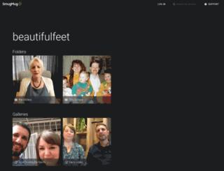 beautifulfeet.smugmug.com screenshot