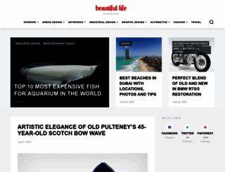 beautifullife.info screenshot