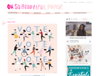 beautifulpaper.typepad.com screenshot