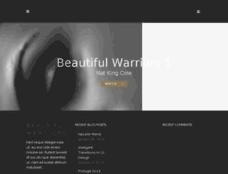 beautifulwarriors.com screenshot