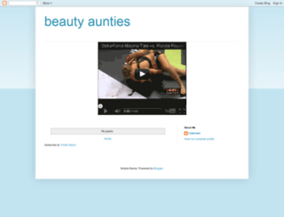 beauty-aunties.blogspot.in screenshot