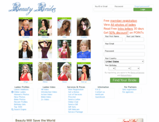 beauty-brides.com screenshot