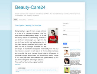 beauty-care24.blogspot.com screenshot