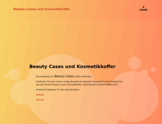 beauty-case.de screenshot